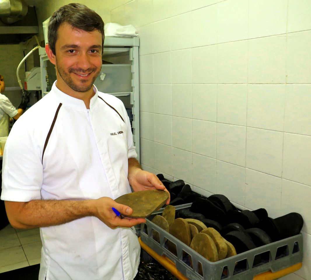 Miguel Rocha Vieira e os seixos do Guincho