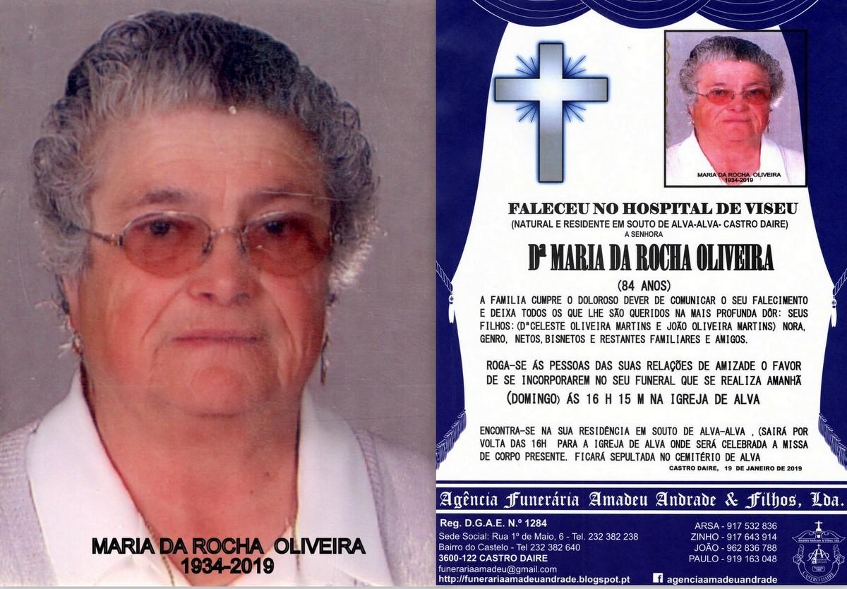 FOTO RIP-DE MARIA DA ROCHA OLIVEIRA-84 ANOS (ALVA)