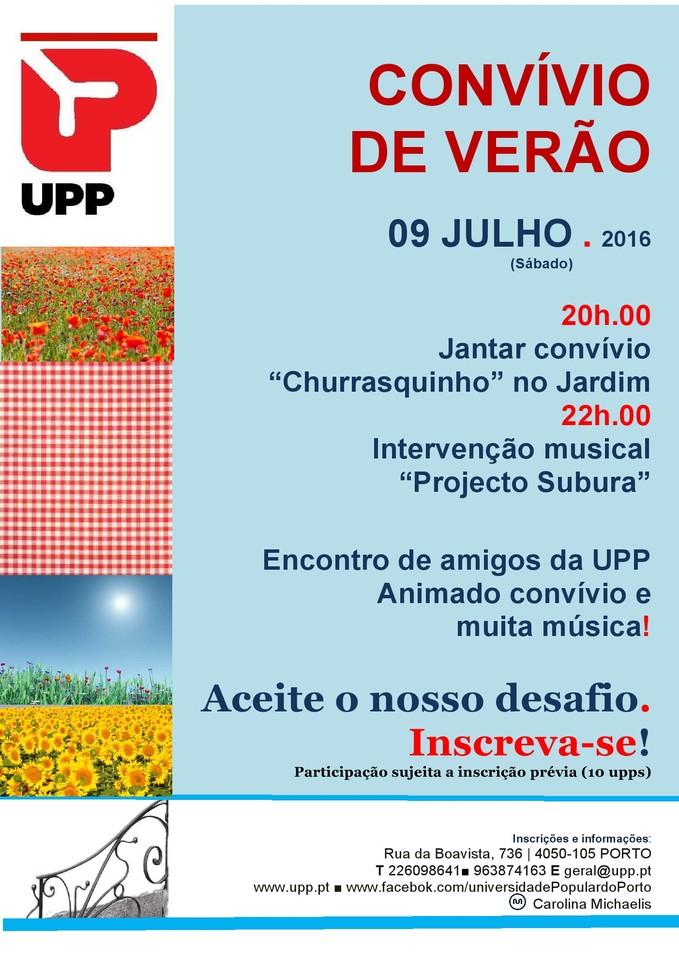 UPP Convivio Verão 2016