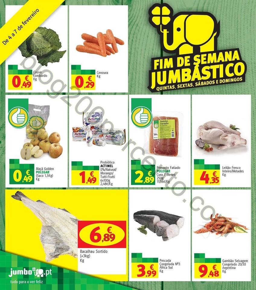 Antevisão Folheto JUMBO Promoções de 4 a 7 feve