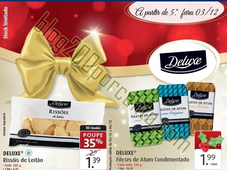 Antevisão Folheto LIDL Natal Deluxe promoções