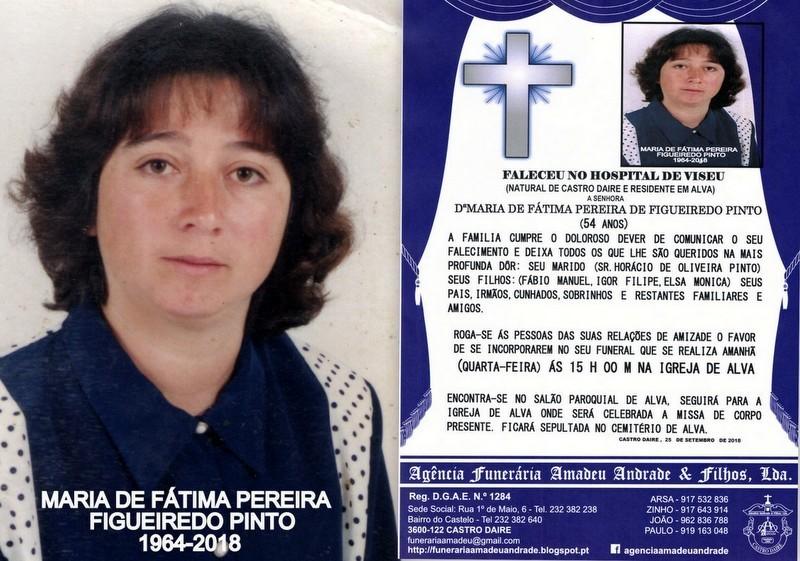 FOTO DE MARIA DE FÁTIMA PEREIRA DE FIGUEIREDO PIN