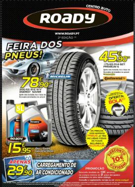 Promoções Roady - folheto 12 a 22 junho