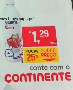 iogurte continente