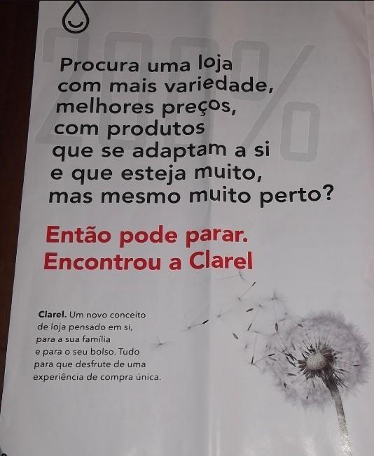 Primeiro folheto   CLAREL   de 6 a 26 fevereiro