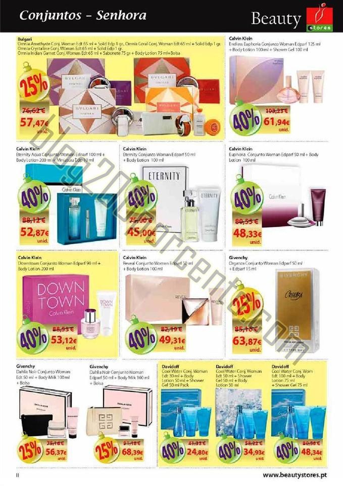 Novo Folheto BEAUTY STORES Natal Promoções de 24