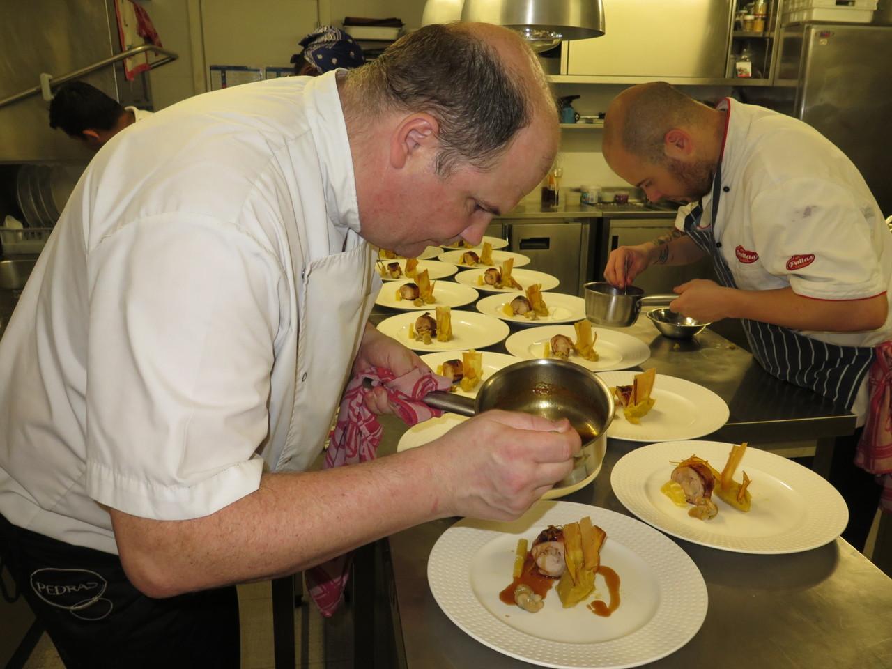 Walter Blazevic e o sub-chef Marcus Stroll