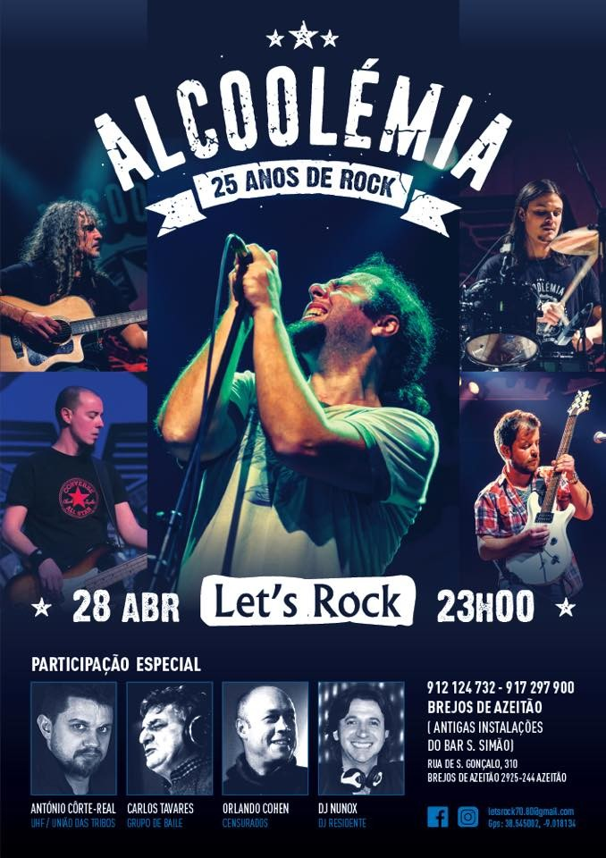 Alcoolémia  - Lets Rock – Azeitão – 28 Abril