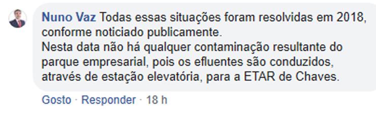 Comentário Nuno Vaz Chaves Cidade Linda nº 3 - p