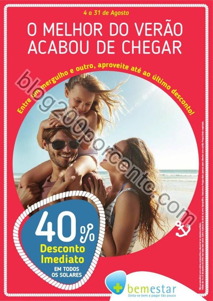 Novo Folheto PINGO DOCE - BEM ESTAR Promoções de