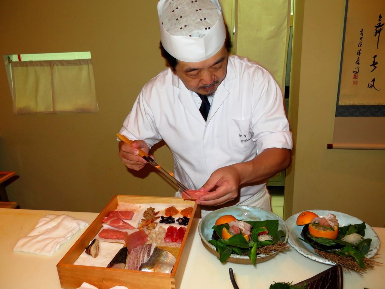 Tomoaki e o peixe