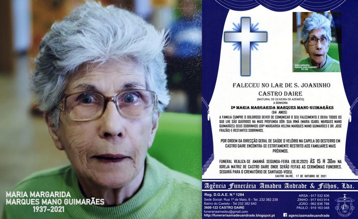 FOTO RIP DE MARIA MARGARIDA MARQUES MANO GUIMARÃE