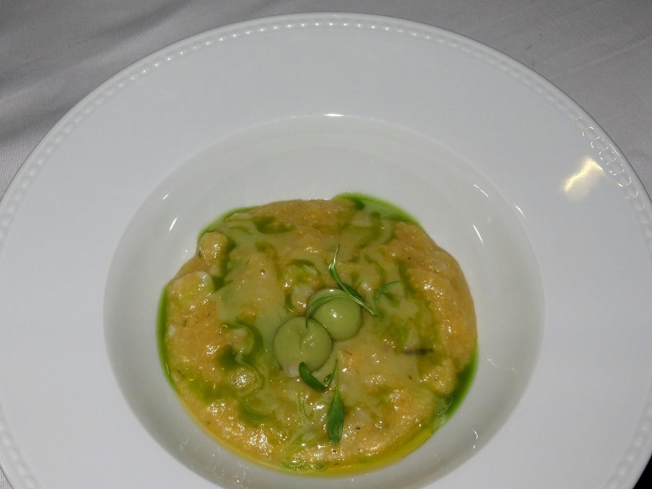 Cod Xerém with clams