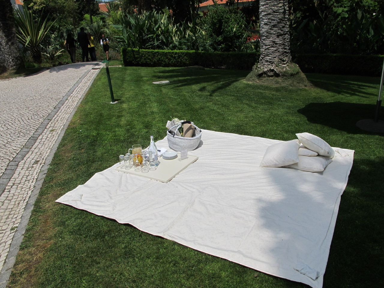 Pic-Nic nos jardins do Pestana Palace