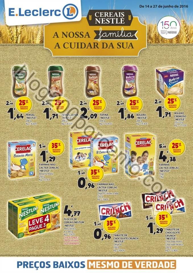 Novo Folheto Extra E-LECLERC promoções até 27 j