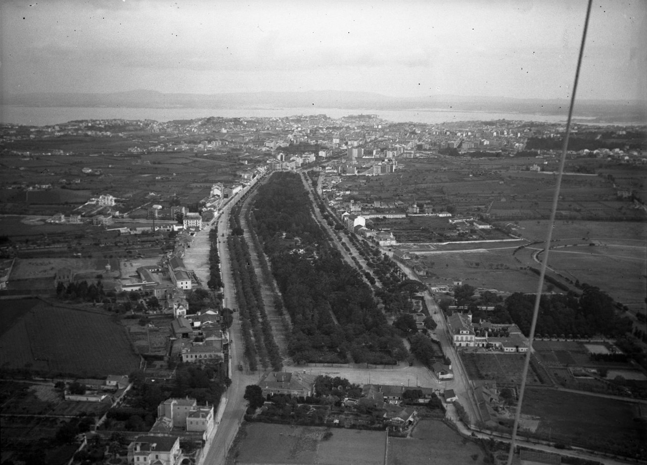 Campo Grande, Lisboa (P. Correia, c. 1934)