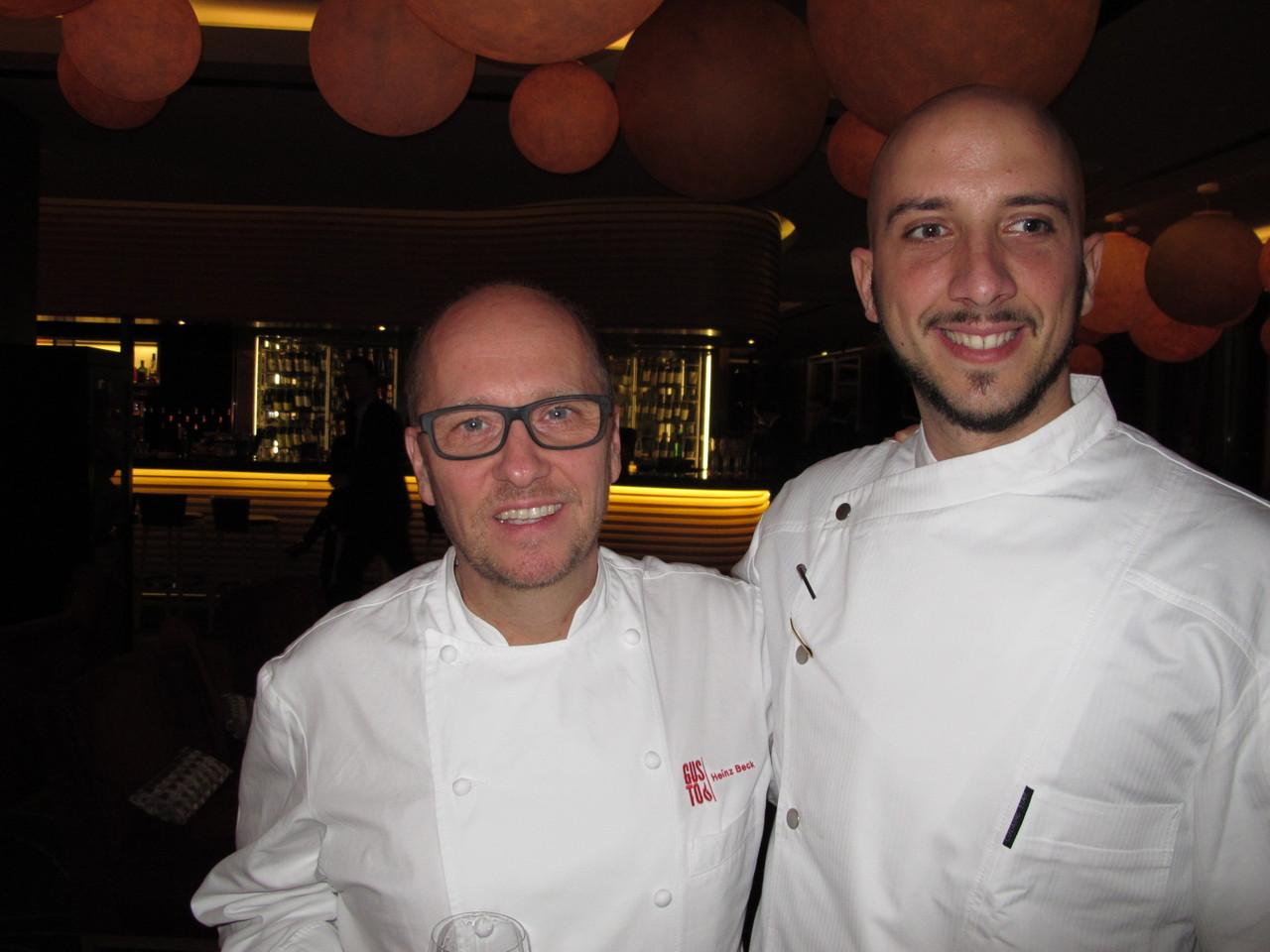 Heinz Beck & Ivan Tronci