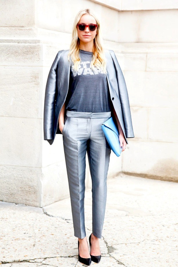STREET-STYLE-METALLIC-SUITS-PARIS-FASHION-WEEK-SS-