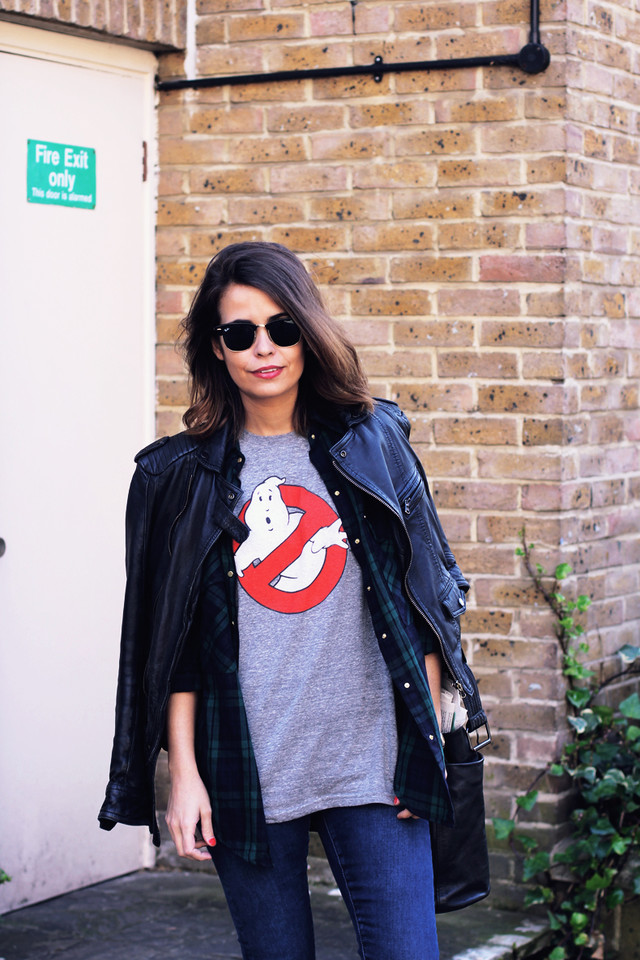 Gosthbusters-t_Shirt-Check_Shirt-Jeans_Topshop-Lon