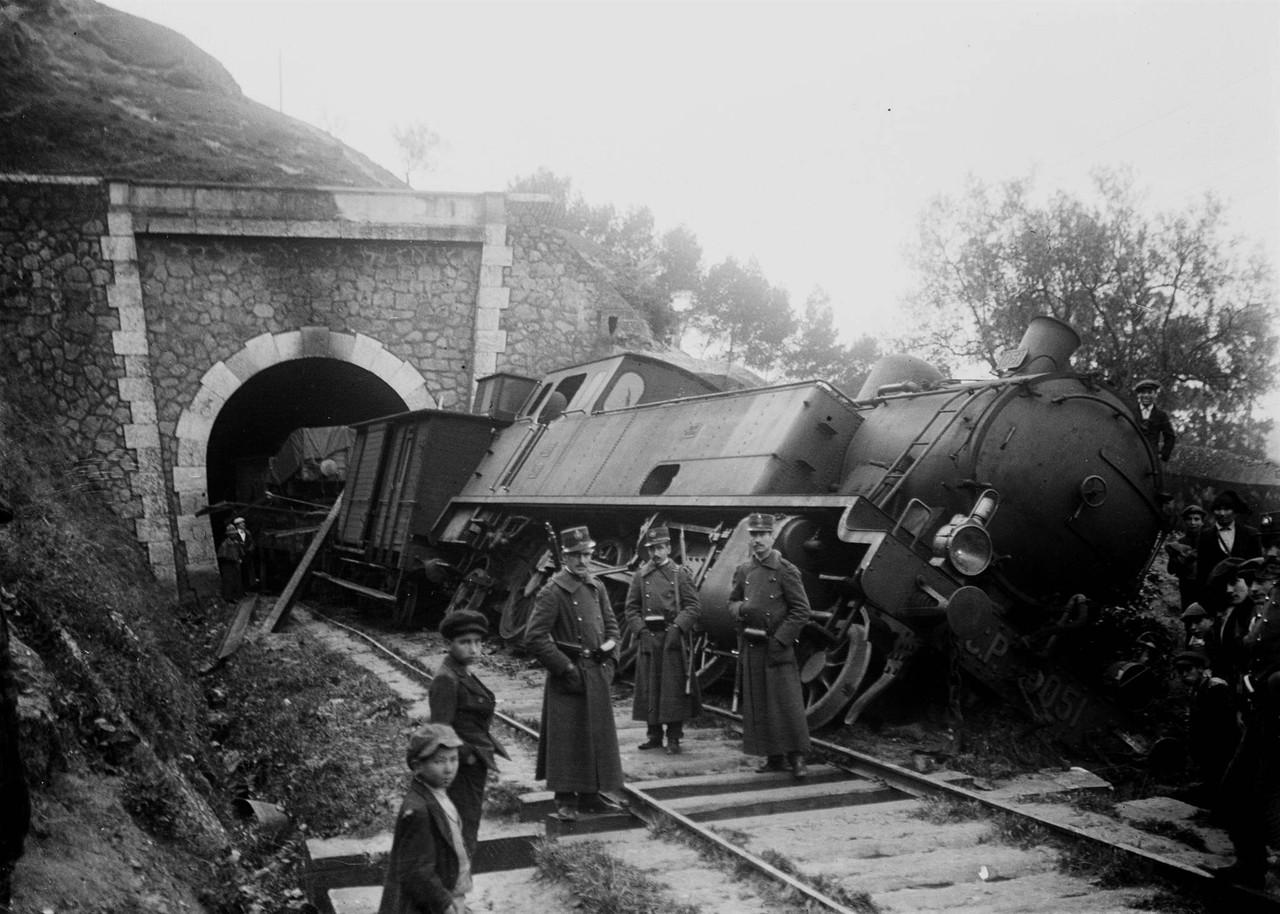Túnel de Xabregas, (J.Benioliel, 1914)