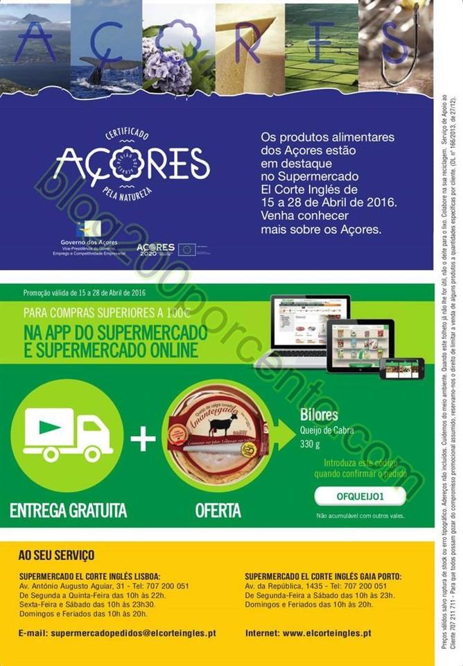 Antevisão Folheto EL CORTE INGLÉS de 15 a 28 abr