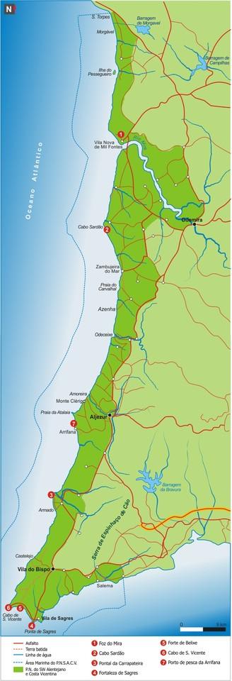 praia da amalia mapa Costa Vicentina. O meu roteiro.   Maria Inês. praia da amalia mapa
