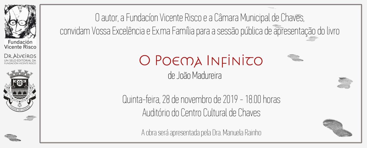 Convite - O Poema Infinito - Chaves 28112019 1800.