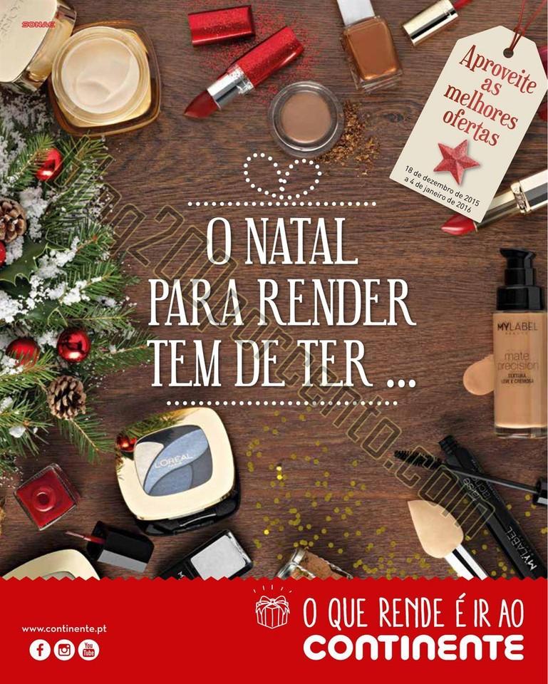 Novo Folheto CONTINENTE  Natal 18 dezembro