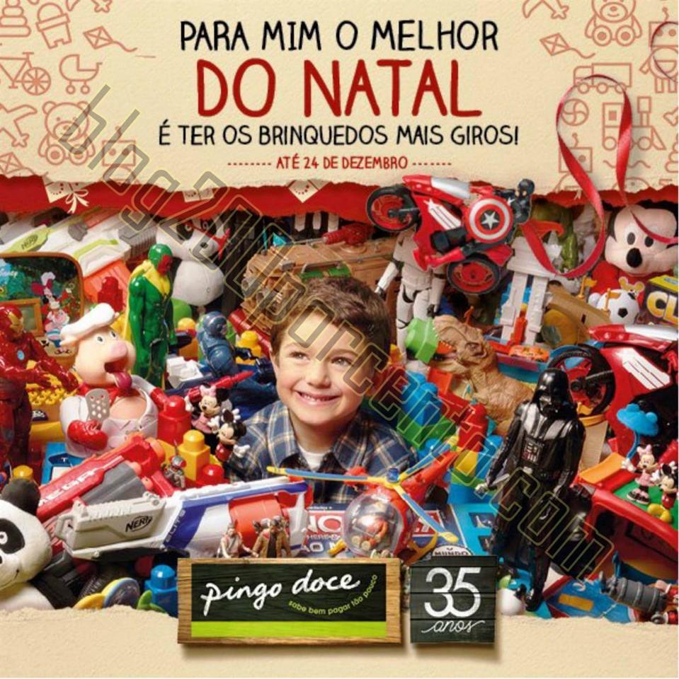 Antevisão Folheto PINGO DOCE Brinquedos Natal de