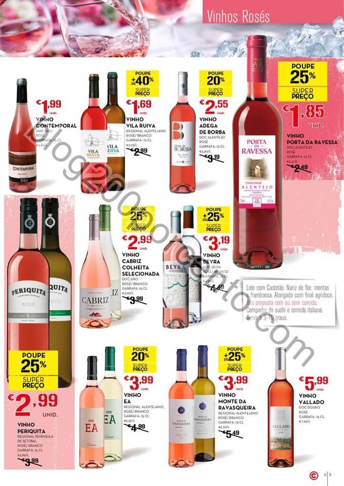 Antevisão Folheto CONTINENTE Vinhos e Aperitivos