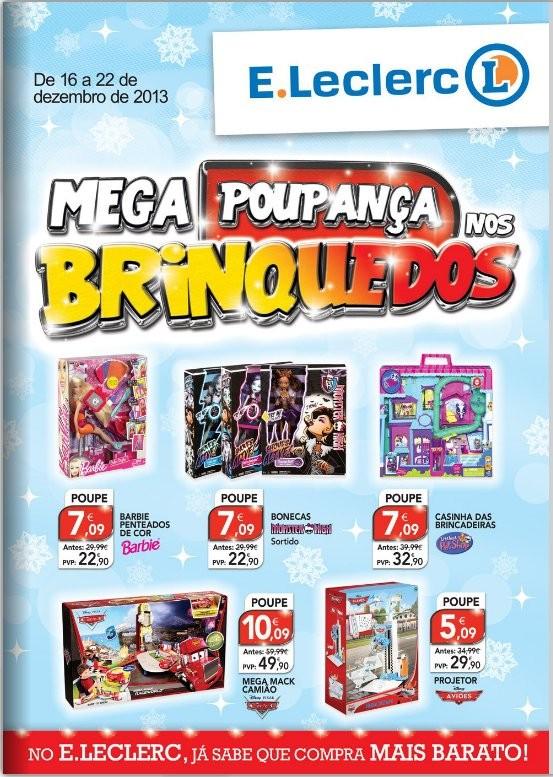 Antevisão folheto | E-LECLERC | Brinquedos, de 16 a 22 dezembro