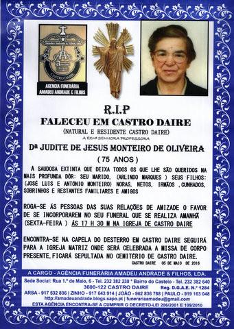 RIP-4 DE JUDITE DE JESUS MONTEIRO DE OLIVEIRA-75 A