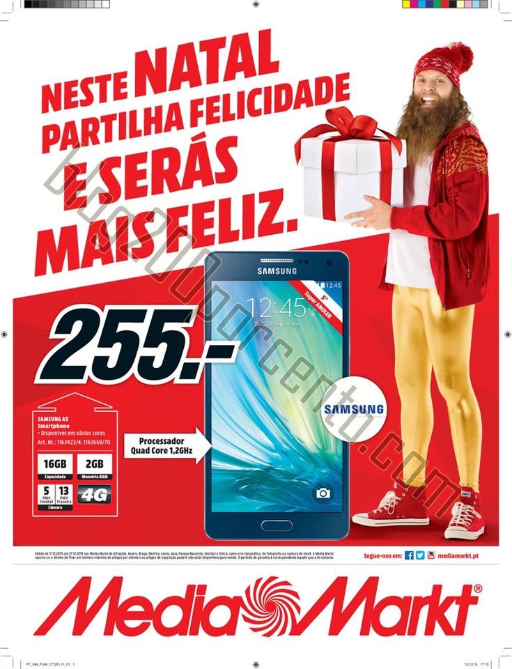 Antevisão Folheto MEDIA MARKT Promoções Natal d