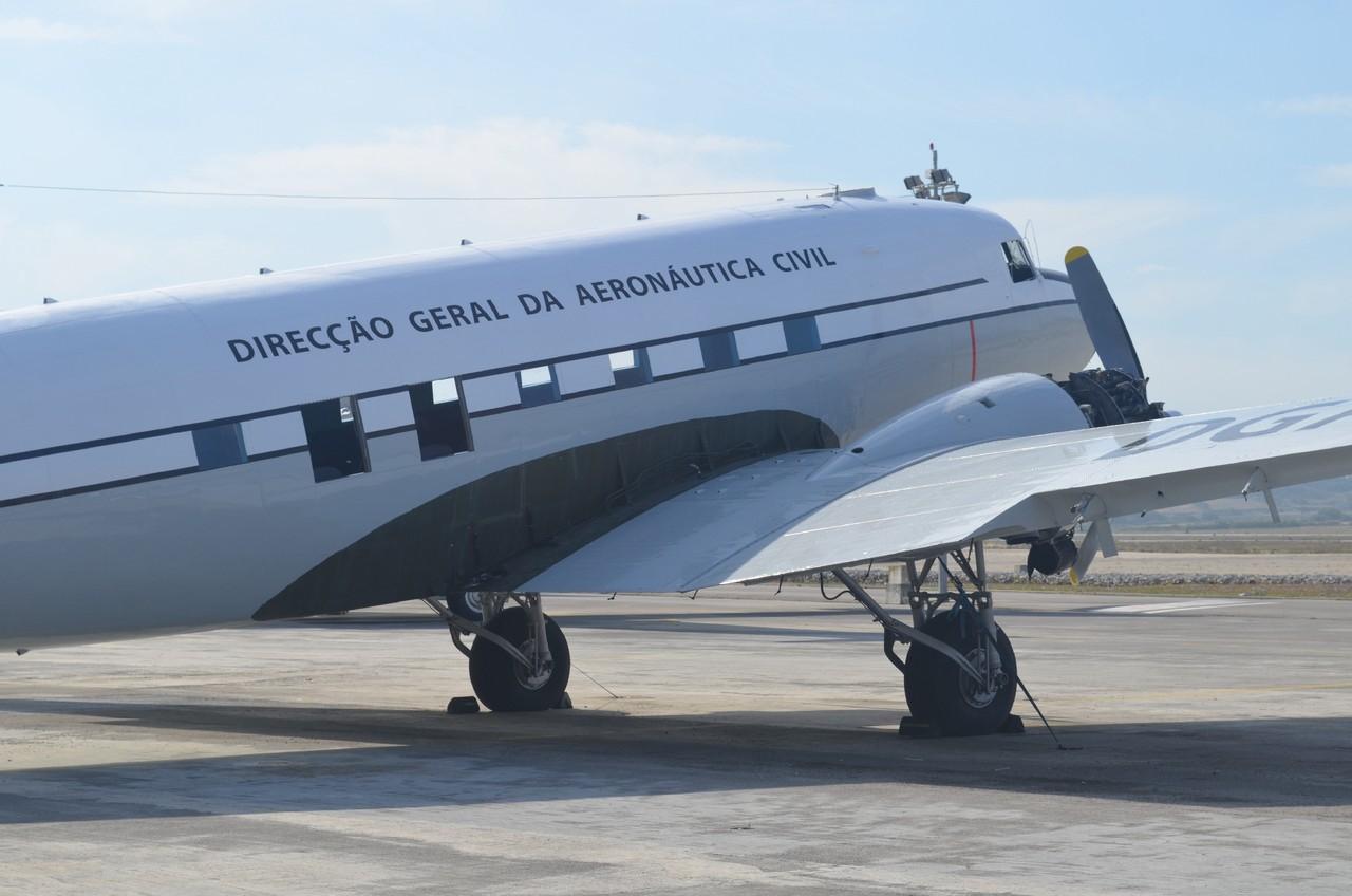 Dakota CS-DGA (TDE) restaurado, Sintra (Vintage Aeroclube, 2014)