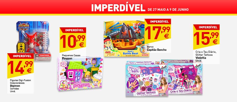 Antevisão Promoções em Destaque Folheto Intermarché - de 27 de maio a 2 de junho