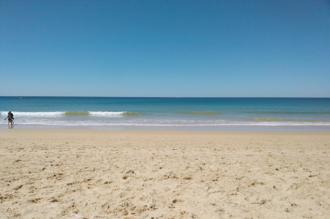 Praia da Falésia, Algarve — © 2016