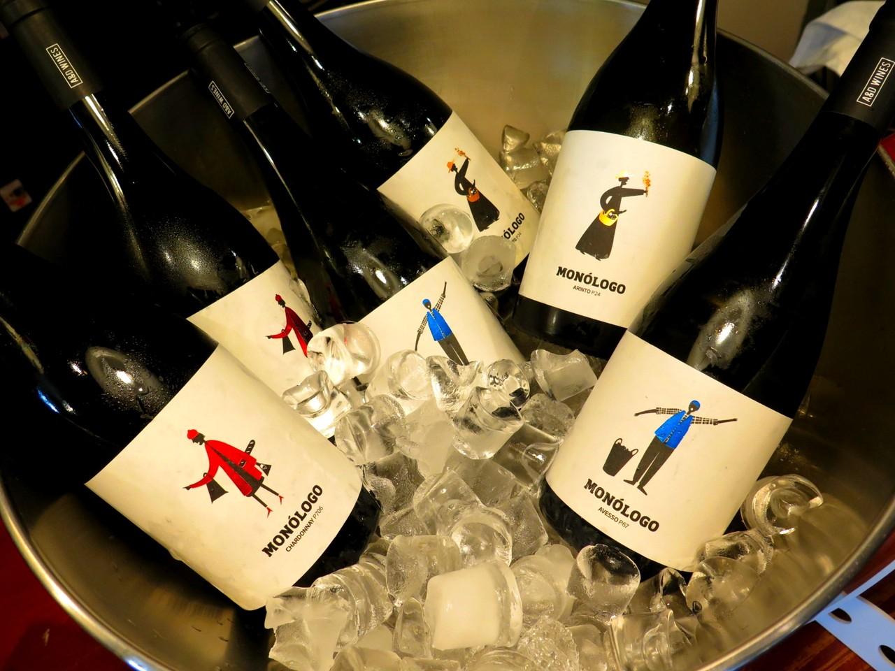 Monólogo Avesso P67 branco 2015 / Monólogo Arinto P24 branco 2015 / Monólogo Chardonnay P706 branco 2015