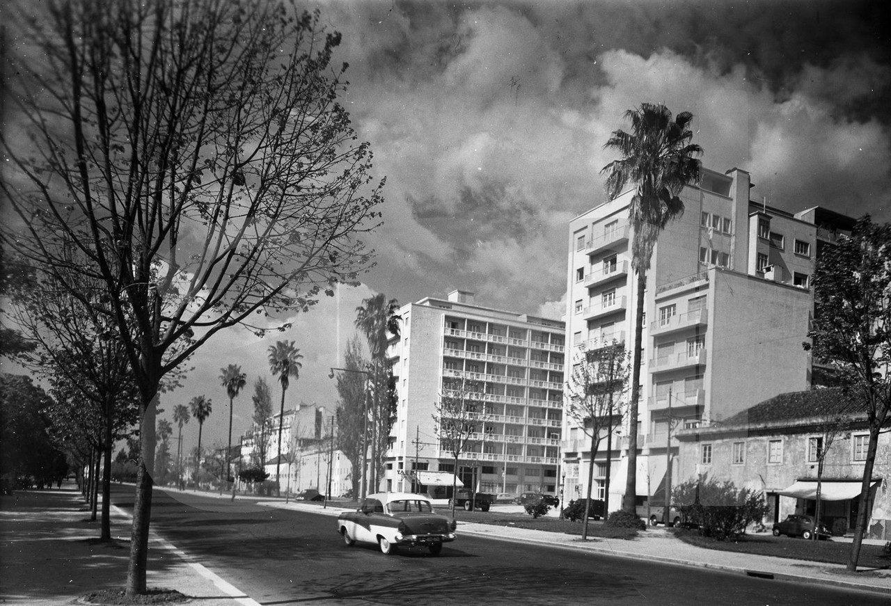 Campo Grande, Lisboa (A. Passaporte, 1960)