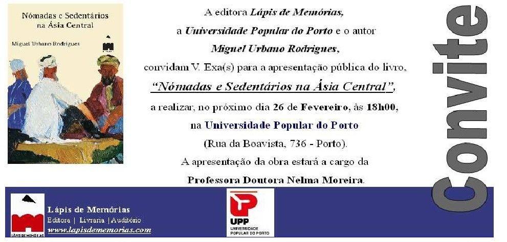 UPP Nomadas e Sedentários