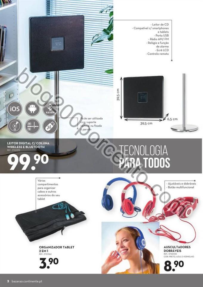 Antevisão Folheto CONTINENTE Bazarão de 24 a 30