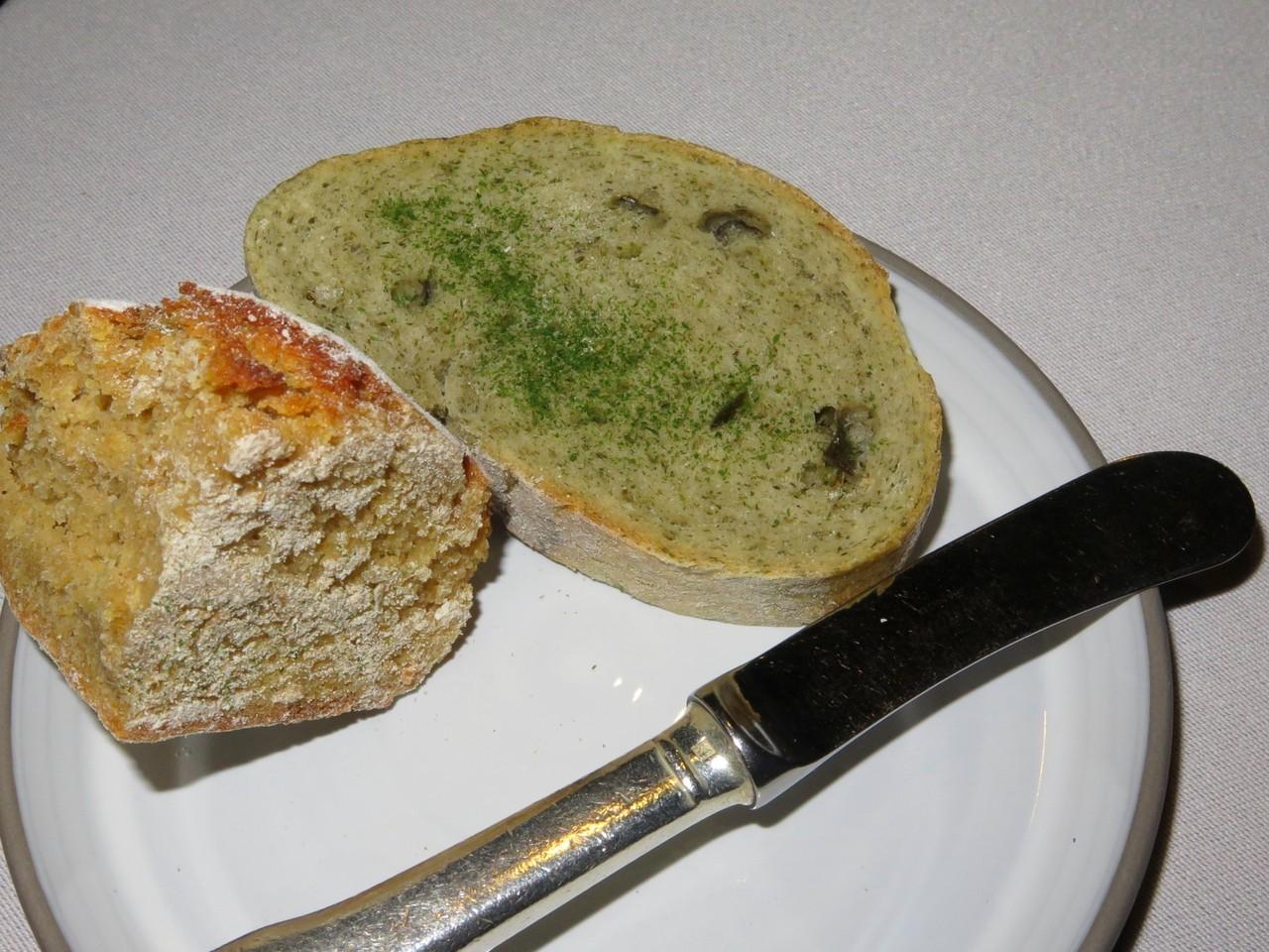 O prato do pão