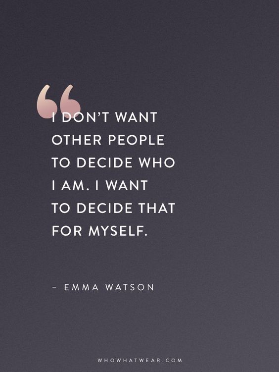 i don't want other people emma watson quote.jpg