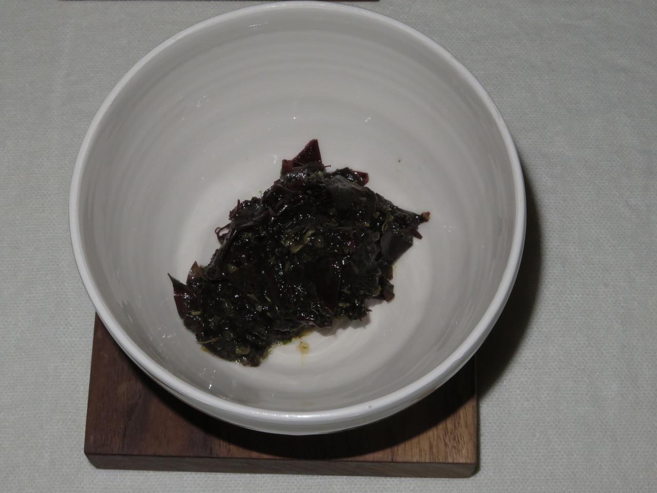 Tártaro de algas
