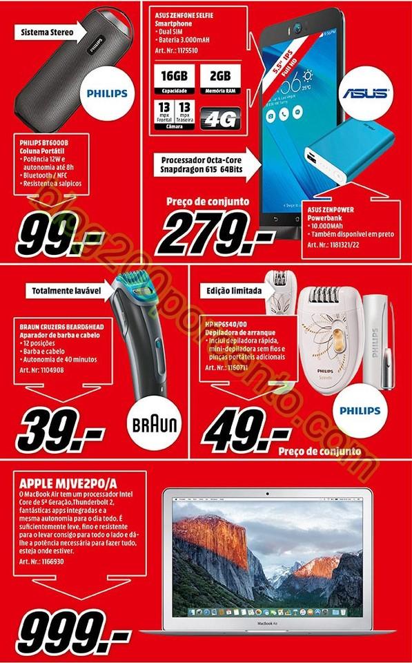 Novo Folheto MEDIA MARKT promoções 11 a 14 fever