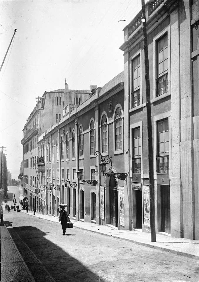Rua Nova da Trindade, Lisboa (A. Cunha, c. 1900)
