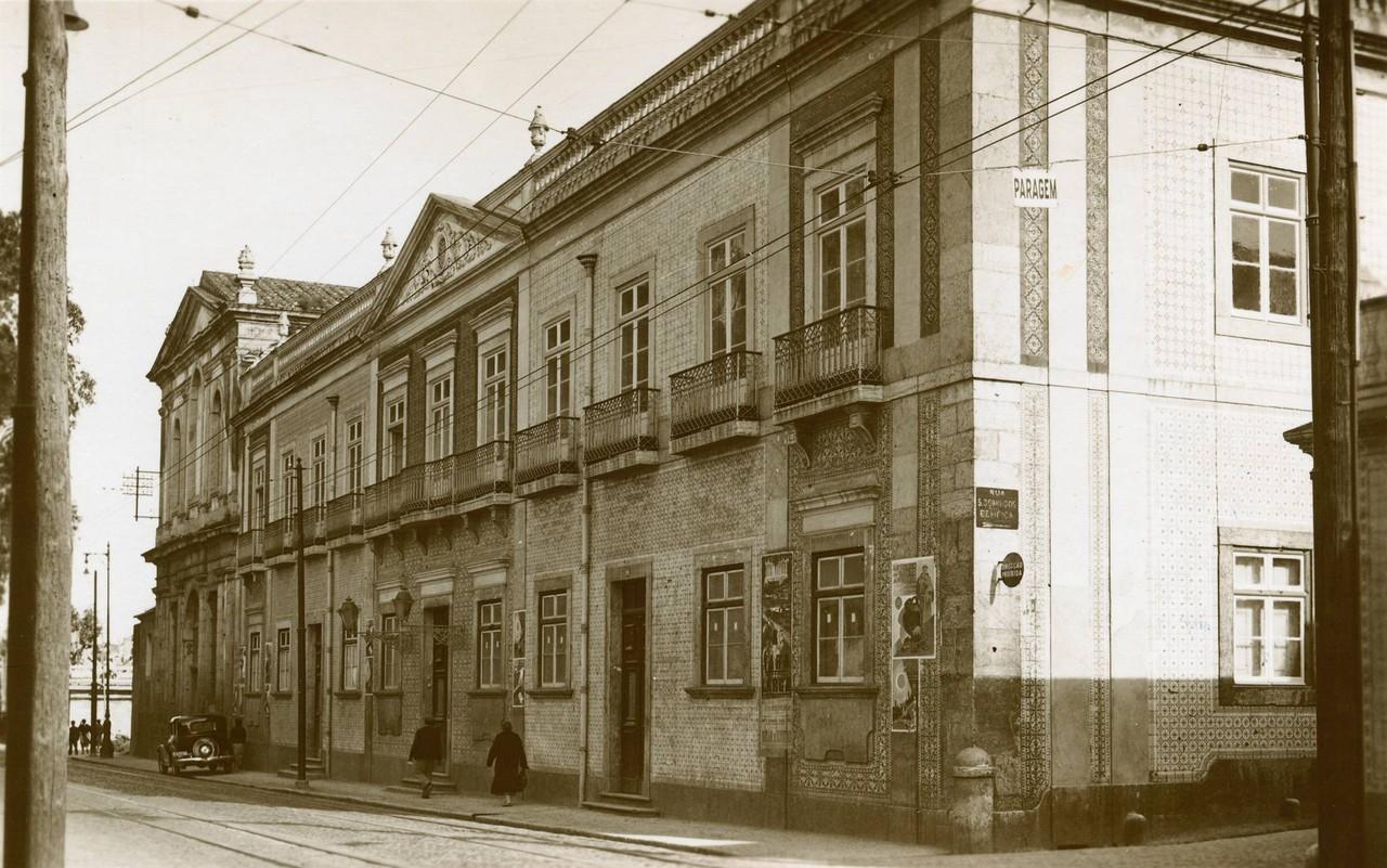 Antigo convento de Sancto Antonio da Convalescença, Cruz da Pedra (E. Portugal, 194...)