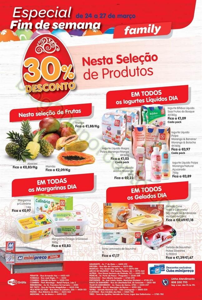Antevisão Folheto MINIPREÇO Family de 24 a 30 ma