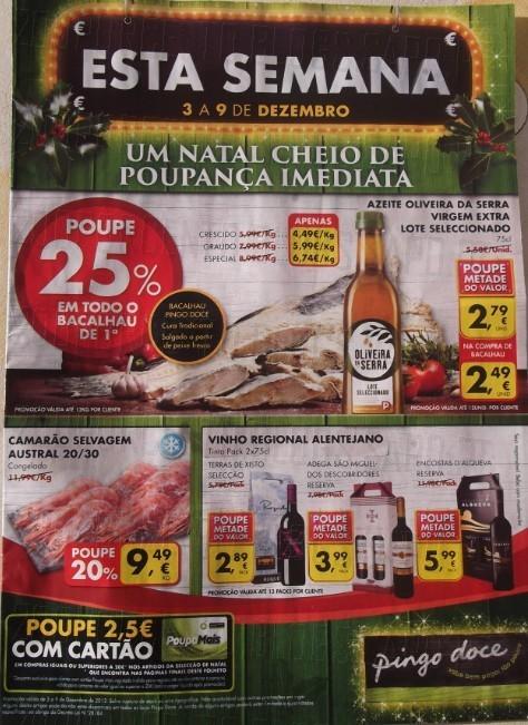 Antevisão Folheto   PINGO DOCE   de 3 a 9 dezembro