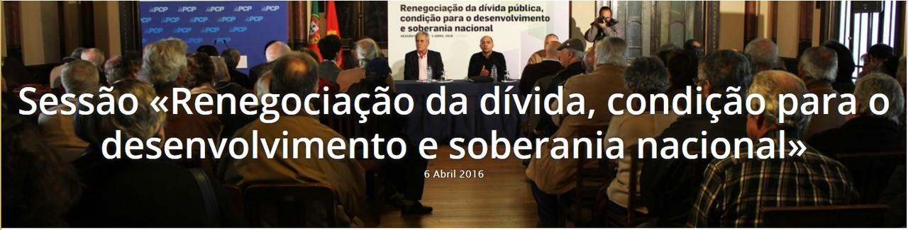 Renegociação dívida 2016-04-06