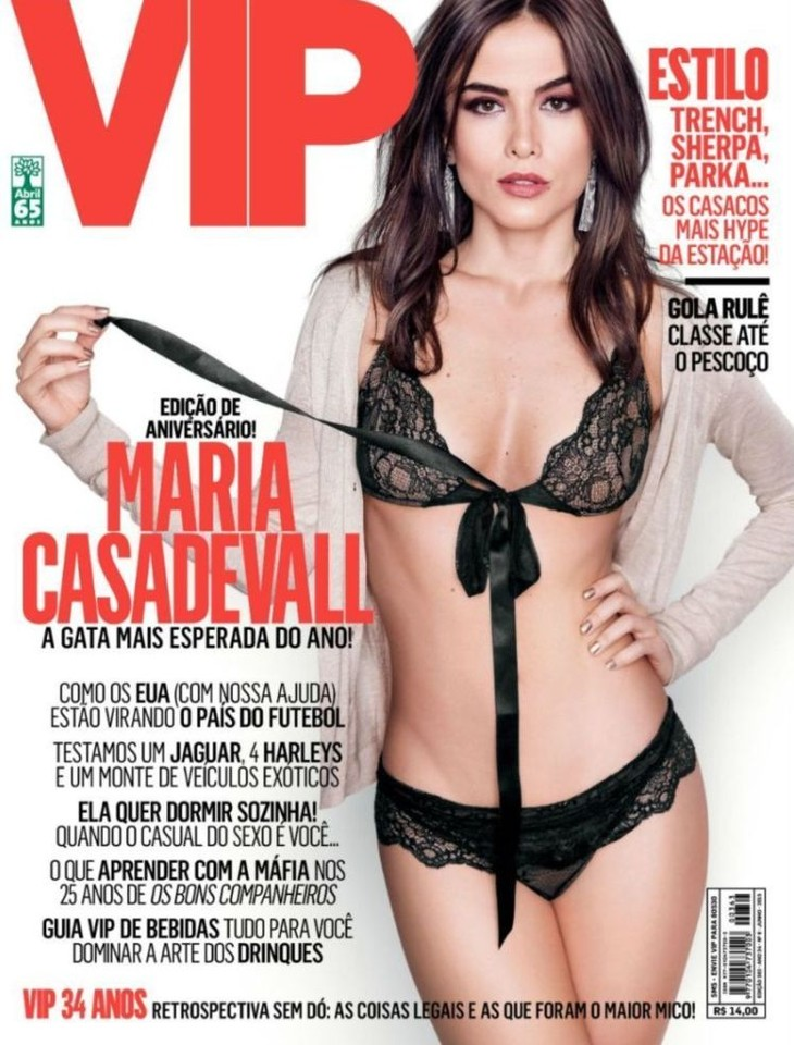 Maria Casadevall capa
